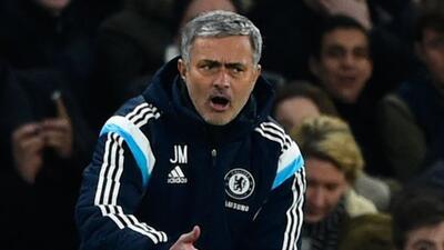 El portugués se encontraba protestando con el cuarto árbitro al momento...