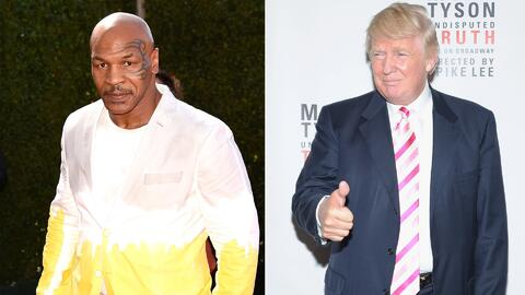 Mike Tyson - Donald Trump