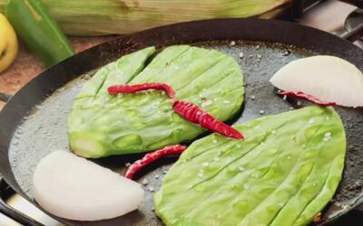 Del mercado a tu plato: así se cocinan los nopales en México