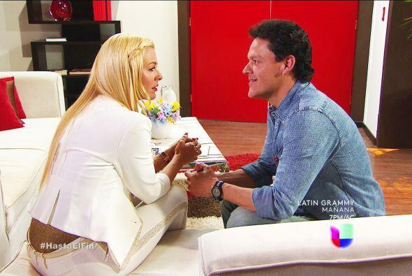¡Qué lindo es verlos juntos! Derraman puro amor y ternura.