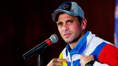 El gobernador Henrique Capriles se enfrentará a Nicolás Maduro en las el...