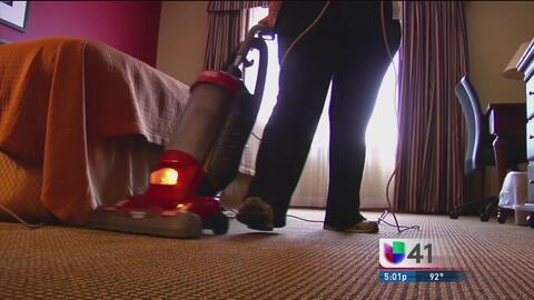 Empleados domésticos estarán protegidos por ley federal