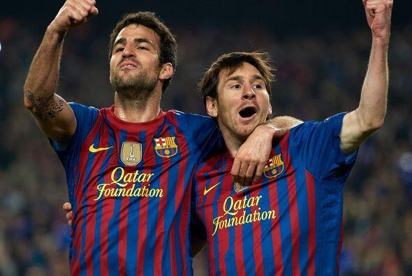Primer gol del partido que no sólo levantaba a todos los aficionados, ta...