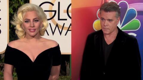 Lady Gaga y Ray Liotta vistos cenando juntos.