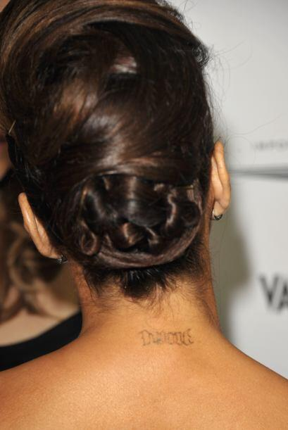 Finalmente tenemos a la bella Eva Longoria, quien tenía tatuajes...