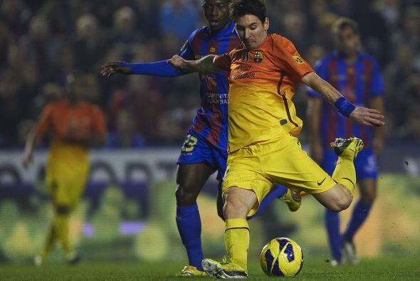 Pero el que puso la rúbrica fue Lionel Messi, que abrió el...