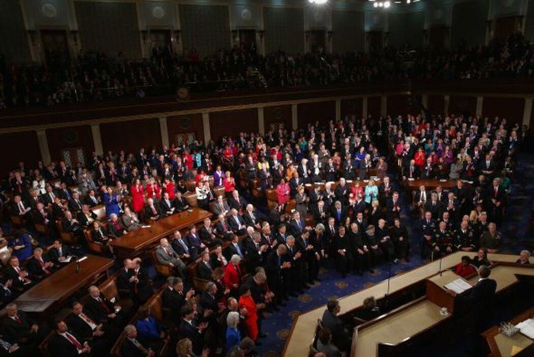 """""""Los republicanos y demócratas del Senado han actuado. Sé que los miembr..."""