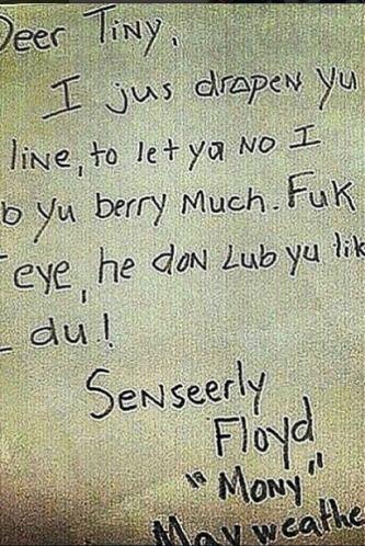 50 Cent continúa sobre Floyd Mayweather Jr. El rapero subió varias fotos...