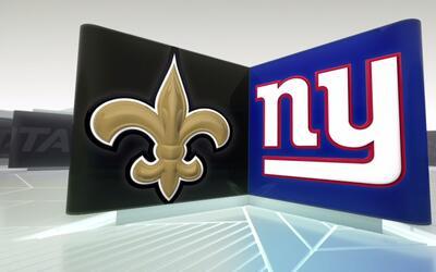 Semana 2: Highlights Saints vs. Giants
