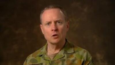 El teniente general del Ejército australiano, David Morrison.