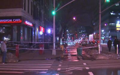 Un hombre de 66 años murió apuñalado en una calle de Manhattan