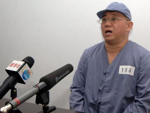 El ciudadano estadounidense Kenneth Bae, detenido en Corea del Norte por...