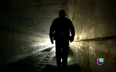 Patrulla Fronteriza vigila hasta los alcantarillados en la frontera