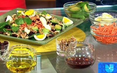 Dieta para fortalecer tus músculos en Despierta América con José Fernández