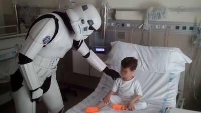 Personajes de Star Wars visitarán hospital
