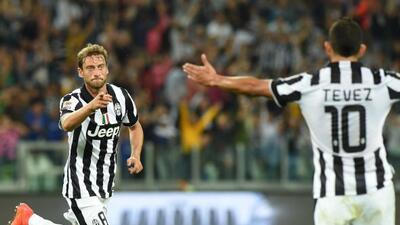 Claudio Marchisio anotó uno de los goles de la 'Vecchia Signora'.