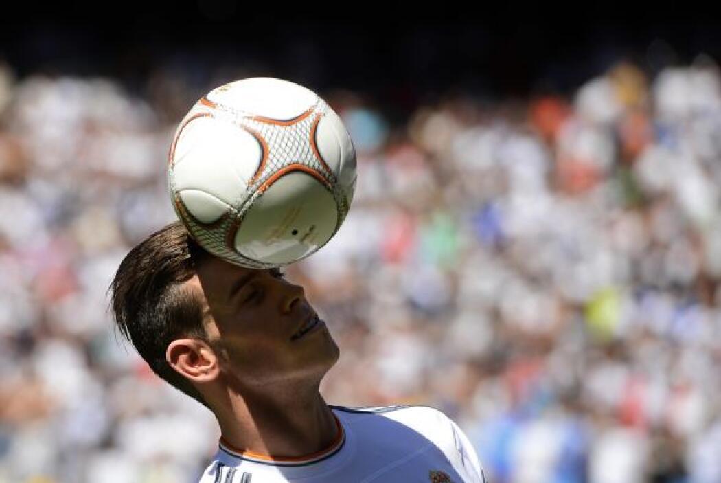 Comenzó a mostrar su gran dominio de la pelota.