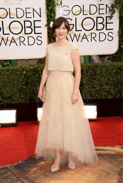 La moda latina invadió esta alfombra roja. Oscar de la Renta vist...