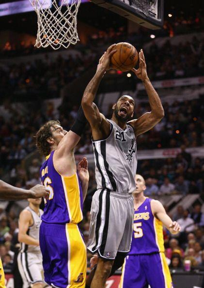 Spurs vs Lakers
