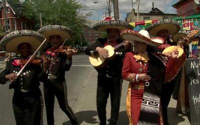 Un pedacito de México en Toronto