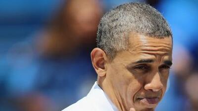 El Presidente de los Estados Unidos se tomó un tiempo con el quarterback...