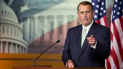 John Boehner responde al retraso de una reforma migratoria