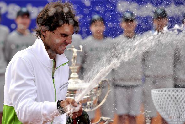 El español consiguió así su sexto título del año y segundo sobre arcilla.