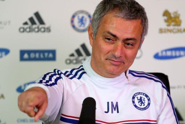 Es el quinto año consecutivo y el noveno en total en que Mourinho...