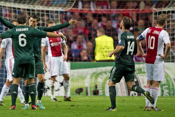 Ronaldo logró su tercer gol y el 4-1 para el Real Madrid.