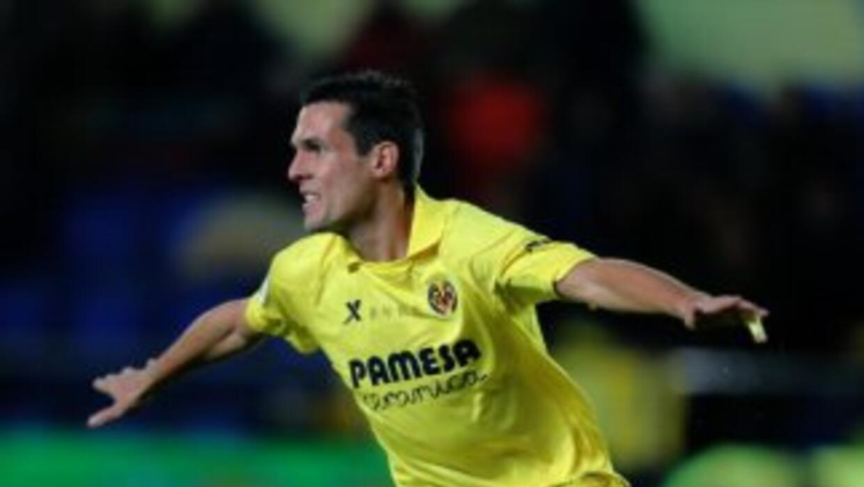 Jereny Perbet hizo el gol del triunfo del Villarreal.