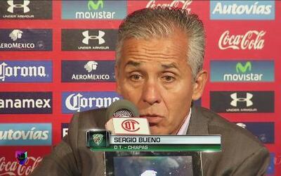 """Sergio Bueno: """"El equipo demostró que tenía tamaños"""""""