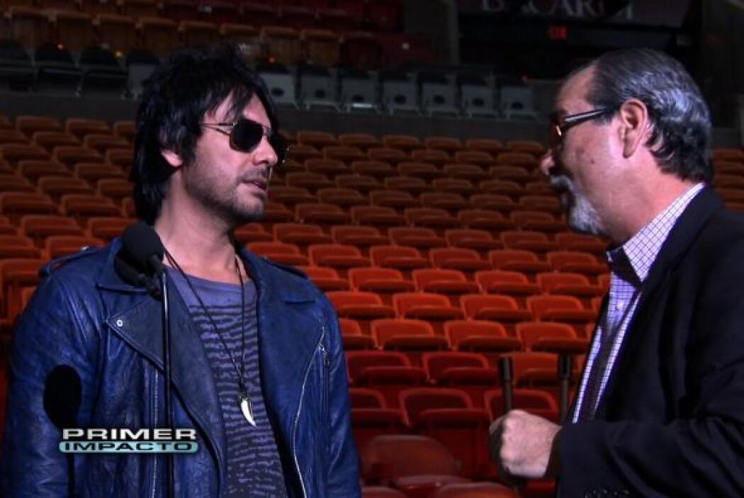 Beto Cuevas en entrevista previa a Premio Lo Nuestro.