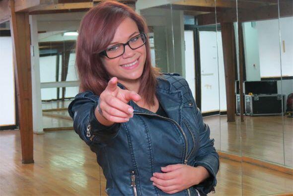 Ana Cristina en sesión de fotos tras nuestra entrevista para los...