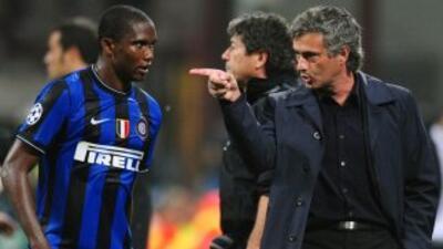 El camerunés trabajó a las órdenes de Mourinho cuando el portugués dirig...