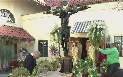 Realizan misas previas a la celebración anual del Señor de Esquipulas en...