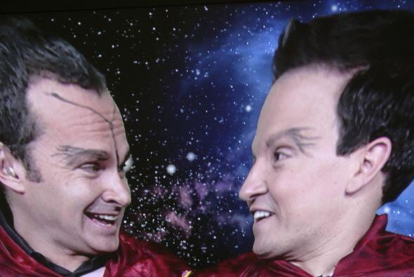 Pero no fue precisamente con el Voyager con quien se comunicaron, sino c...