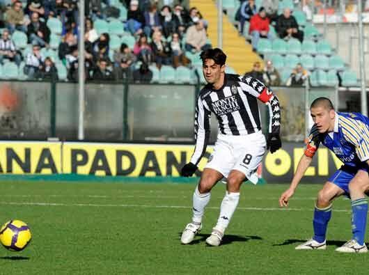 Entre los tantos empates que se dieron en la jornada, Siena y Parma igua...
