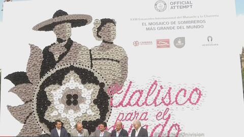 Tierra mundial del mariachi rompió Récord Guinness