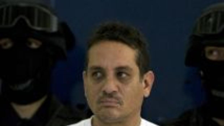 Chávez Castillo, identificado como El Camello en el momento de su detenc...