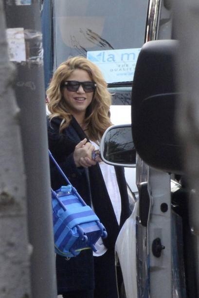 Estas son las primeras imágenes de Shakira tras dar a luz a su segundo b...