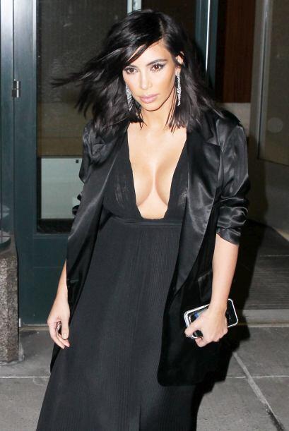 """Kim no sólo quiere ser reconocida por su famosa """"retaguardia..."""