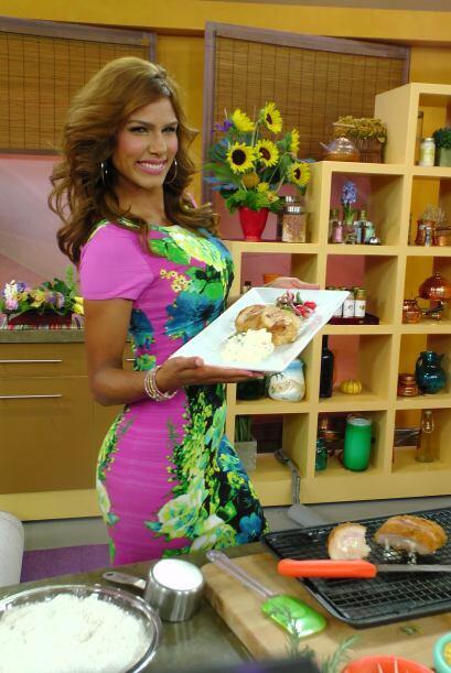 La guapísima chef Tati nos enseñó una receta f&aacu...