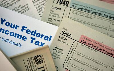 Formatos y boletines del Internal Revenue Service (IRS) (archivo)