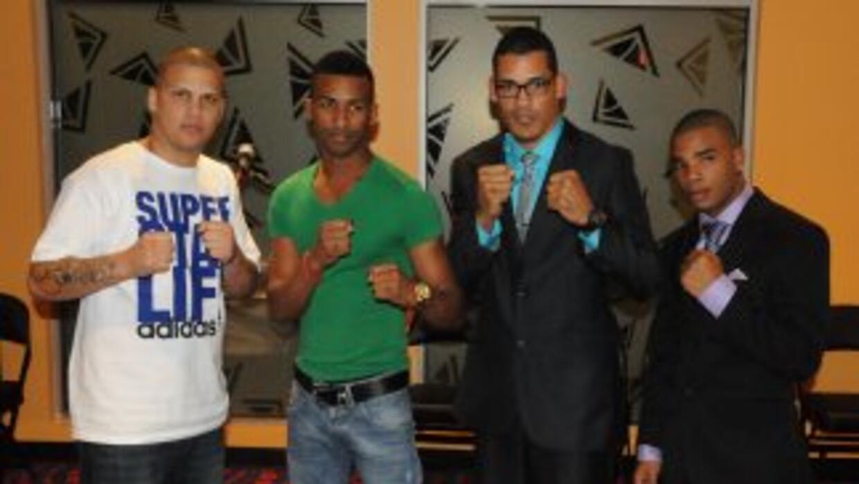Jonathan González, Rances Batherlemy, Roberto Acevedo y Hairon Socarrás...