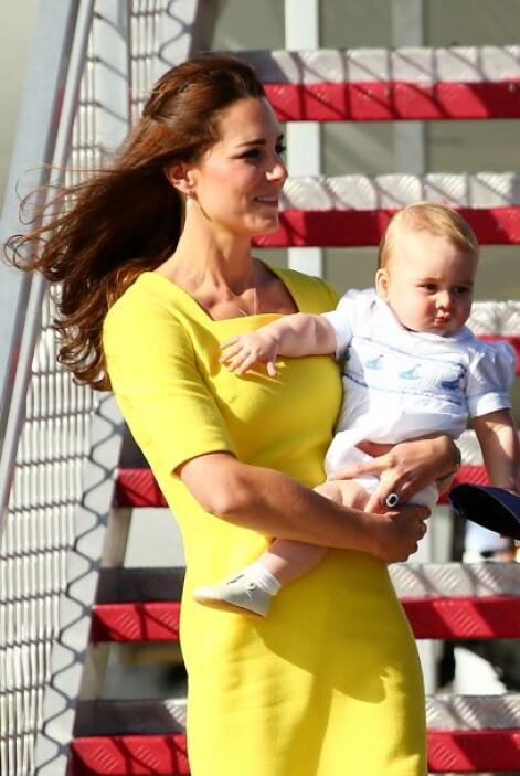 En Australia la familia hará varias apariciones y seguro el príncipe seg...