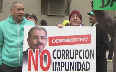 Dominicanos en Nueva York volvieron a las calles para condenar la corrup...