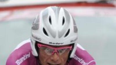Di Luca dio positivo por CERA en dos ocasiones durante el Giro de Italia...