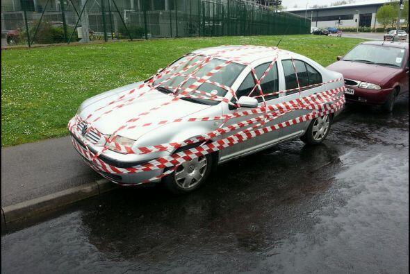 El dueño no podrá entrar a su auto.