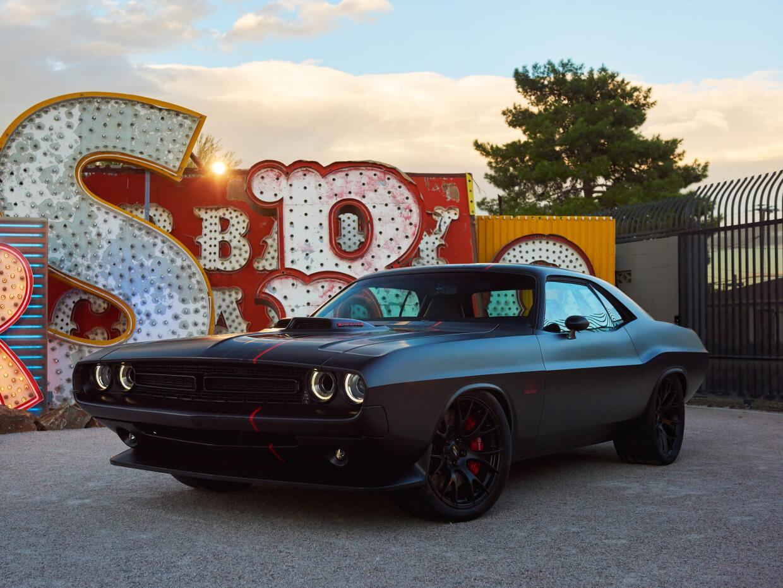 El Dodge Challenger Shakedown reune el pasado y el futuro con el dise&nt...