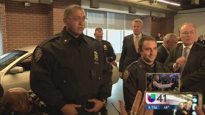NYPD comienza a probar cámaras en uniformes